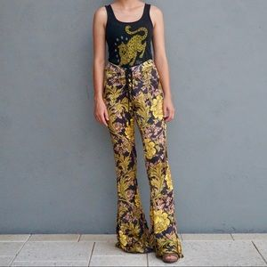 Lenni the Label Bell Bottoms